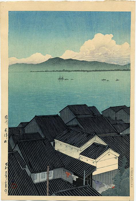 Kawase Hasui - Partie 4 dans Artistes: Peintres & sculpteurs, etc... 1464_Hasui_Harbor