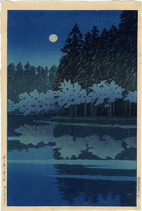 2349_Hasui_Moonlight dans Artistes: Peintres & sculpteurs, etc...