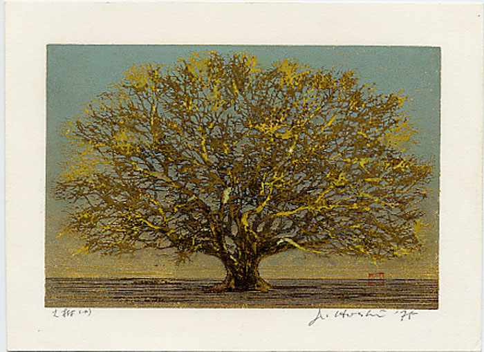 Hoshi joichi 1911 1979 great tree small castle for Great small trees