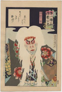 Thumbnail of Original Japanese Woodblock Print by Kunichika