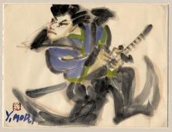 Thumbnail of Original Watercolor Painting by Mori, Yoshitoshi