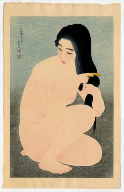 Thumbnail of Limited Edition Japanese Woodblock Print by Kotondo, Torii