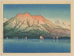 Thumbnail of Original, Limited Edition Japanese Woodblock Print by Hasui, Kawase