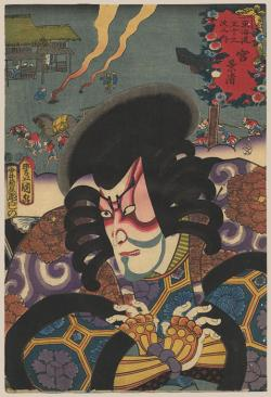 Thumbnail of Original Japanese Woodblock Print by Toyokuni III