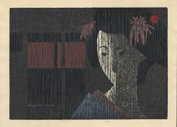 Thumbnail of Original, Limited Edition Japanese Woodblock Print by Saito, Kiyoshi