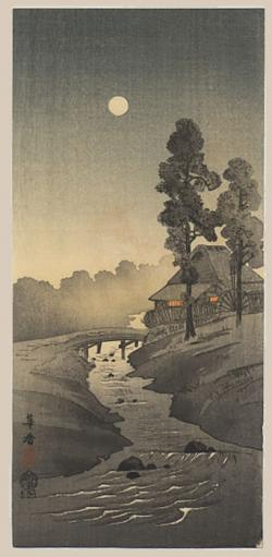 Thumbnail of Original Japanese Woodblock Print by Morita, Kako