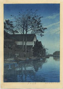 Thumbnail of Orignal, Limited Edition Japanese Woodblock Print by Hasui, Kawase