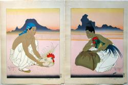 Thumbnail of Original Limited Edition Woodblock Prints. by Jacoulet, Paul