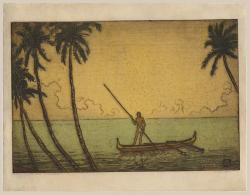 Thumbnail of Original Etching, Hand-colored with Watercolor by Bartlett, Charles