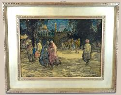 Thumbnail of Original Watercolor and Crayon On Paper  by Bartlett, Charles
