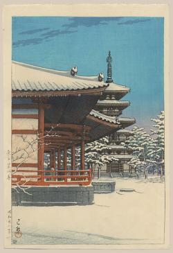 Thumbnail of Original Japanese Woodblock Print by Hasui, Kawase