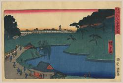 Thumbnail of Original Japanese Woodbock Print by Hiroshige