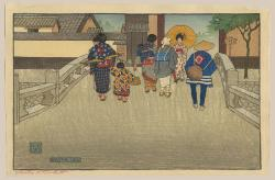 Thumbnail of Original Japanese Woodblock Print by Bartlett, Charles