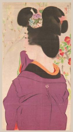 Thumbnail of Original Color Lithograph by Shinsui, Ito