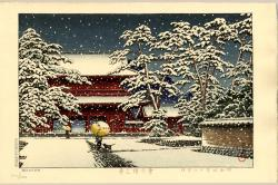 Thumbnail of Original Limited Edition Japanese Woodblock Print by Hasui, Kawase
