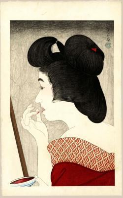 Thumbnail of Original Japanese Woodblock Print by Kotondo, Torii