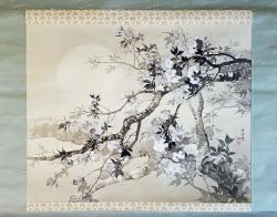 Thumbnail of Original Painting Scroll by Shoson