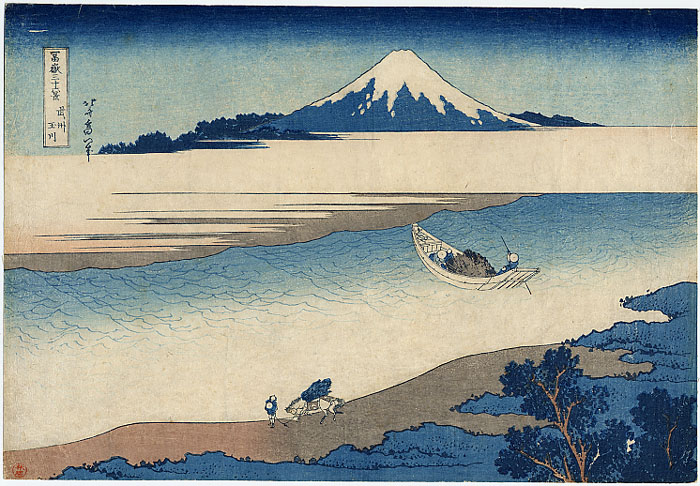 LE MUSEE DU FORUM Hokusai_TamaRiver
